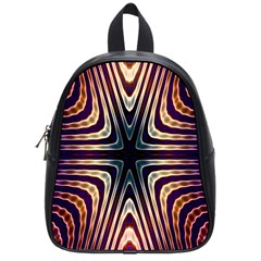 Colorful Seamless Vibrant Pattern School Bags (Small)