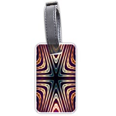Colorful Seamless Vibrant Pattern Luggage Tags (two Sides)