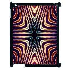 Colorful Seamless Vibrant Pattern Apple iPad 2 Case (Black)