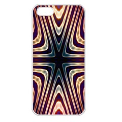 Colorful Seamless Vibrant Pattern Apple iPhone 5 Seamless Case (White)