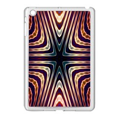 Colorful Seamless Vibrant Pattern Apple iPad Mini Case (White)