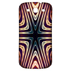 Colorful Seamless Vibrant Pattern Samsung Galaxy S3 S III Classic Hardshell Back Case