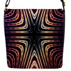 Colorful Seamless Vibrant Pattern Flap Messenger Bag (S)