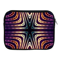 Colorful Seamless Vibrant Pattern Apple Ipad 2/3/4 Zipper Cases