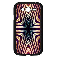 Colorful Seamless Vibrant Pattern Samsung Galaxy Grand DUOS I9082 Case (Black)