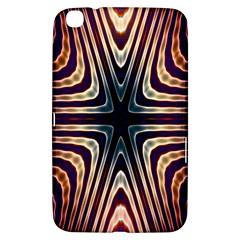 Colorful Seamless Vibrant Pattern Samsung Galaxy Tab 3 (8 ) T3100 Hardshell Case