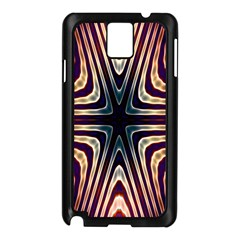 Colorful Seamless Vibrant Pattern Samsung Galaxy Note 3 N9005 Case (black)