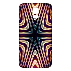Colorful Seamless Vibrant Pattern Samsung Galaxy S5 Back Case (White)