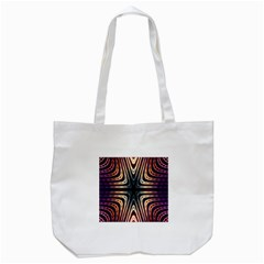 Colorful Seamless Vibrant Pattern Tote Bag (White)