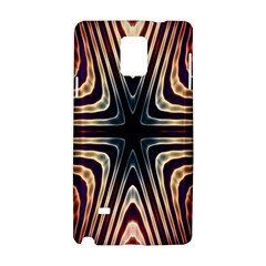 Colorful Seamless Vibrant Pattern Samsung Galaxy Note 4 Hardshell Case