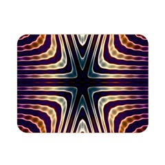 Colorful Seamless Vibrant Pattern Double Sided Flano Blanket (Mini)
