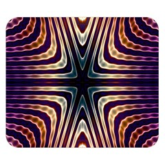 Colorful Seamless Vibrant Pattern Double Sided Flano Blanket (Small)