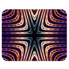 Colorful Seamless Vibrant Pattern Double Sided Flano Blanket (Medium)