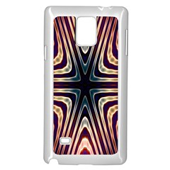 Colorful Seamless Vibrant Pattern Samsung Galaxy Note 4 Case (white)