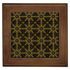 Seamless Symmetry Pattern Framed Tiles