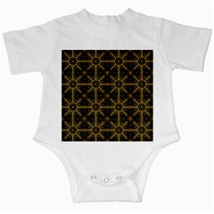 Seamless Symmetry Pattern Infant Creepers