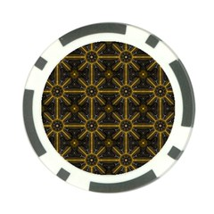 Seamless Symmetry Pattern Poker Chip Card Guard (10 Pack)