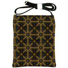 Seamless Symmetry Pattern Shoulder Sling Bags