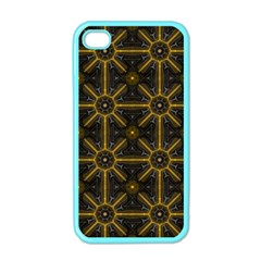 Seamless Symmetry Pattern Apple iPhone 4 Case (Color)