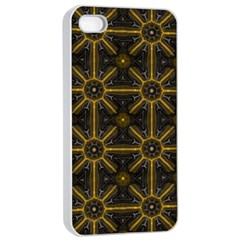 Seamless Symmetry Pattern Apple iPhone 4/4s Seamless Case (White)
