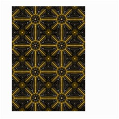 Seamless Symmetry Pattern Large Garden Flag (two Sides)