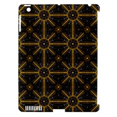 Seamless Symmetry Pattern Apple iPad 3/4 Hardshell Case (Compatible with Smart Cover)