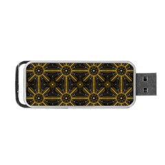 Seamless Symmetry Pattern Portable USB Flash (One Side)
