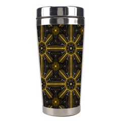Seamless Symmetry Pattern Stainless Steel Travel Tumblers