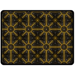Seamless Symmetry Pattern Double Sided Fleece Blanket (Large)