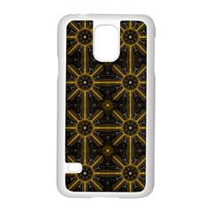 Seamless Symmetry Pattern Samsung Galaxy S5 Case (white)