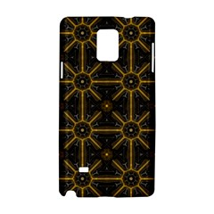 Seamless Symmetry Pattern Samsung Galaxy Note 4 Hardshell Case