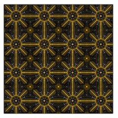 Seamless Symmetry Pattern Large Satin Scarf (Square)