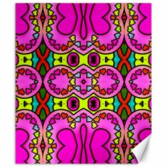 Love Hearths Colourful Abstract Background Design Canvas 20  X 24