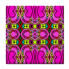 Love Hearths Colourful Abstract Background Design Face Towel