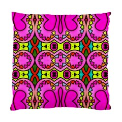 Love Hearths Colourful Abstract Background Design Standard Cushion Case (One Side)