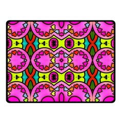 Love Hearths Colourful Abstract Background Design Fleece Blanket (small)