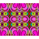 Love Hearths Colourful Abstract Background Design Deluxe Canvas 14  x 11  14  x 11  x 1.5  Stretched Canvas