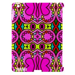 Love Hearths Colourful Abstract Background Design Apple iPad 3/4 Hardshell Case (Compatible with Smart Cover)