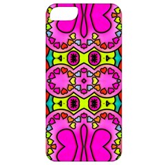 Love Hearths Colourful Abstract Background Design Apple iPhone 5 Classic Hardshell Case