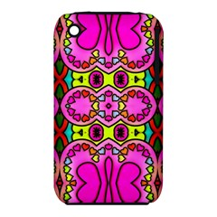 Love Hearths Colourful Abstract Background Design iPhone 3S/3GS
