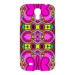 Love Hearths Colourful Abstract Background Design Samsung Galaxy S4 I9500/I9505 Hardshell Case