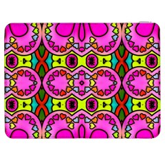 Love Hearths Colourful Abstract Background Design Samsung Galaxy Tab 7  P1000 Flip Case
