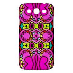 Love Hearths Colourful Abstract Background Design Samsung Galaxy Mega 5.8 I9152 Hardshell Case