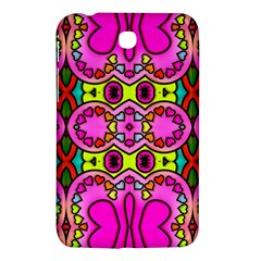 Love Hearths Colourful Abstract Background Design Samsung Galaxy Tab 3 (7 ) P3200 Hardshell Case