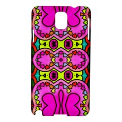 Love Hearths Colourful Abstract Background Design Samsung Galaxy Note 3 N9005 Hardshell Case