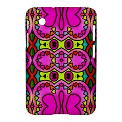 Love Hearths Colourful Abstract Background Design Samsung Galaxy Tab 2 (7 ) P3100 Hardshell Case