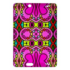 Love Hearths Colourful Abstract Background Design Amazon Kindle Fire Hd (2013) Hardshell Case