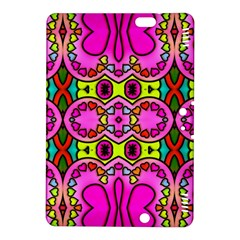 Love Hearths Colourful Abstract Background Design Kindle Fire HDX 8.9  Hardshell Case