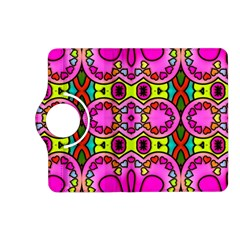 Love Hearths Colourful Abstract Background Design Kindle Fire HD (2013) Flip 360 Case