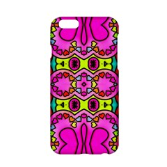 Love Hearths Colourful Abstract Background Design Apple iPhone 6/6S Hardshell Case